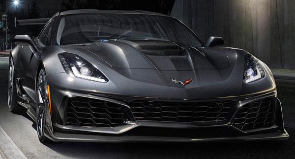 شورلت از کوروت ZR1 مدل 2019 با 755 اسب بخار نیرو رونمایی کرد
