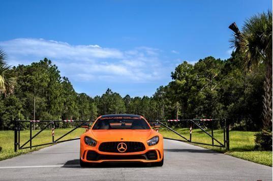 تقویت «مرسدس بنز AMG GT R » به سبک آمریکایی