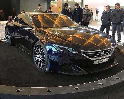 سوپرایز ویژه غرفه پژو در نمایشگاه خودرو تهران ؛ پژو اکزالت