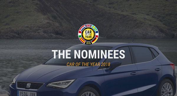 لیست نامزدهای خودروی برتر سال 2018 اروپا اعلام شد