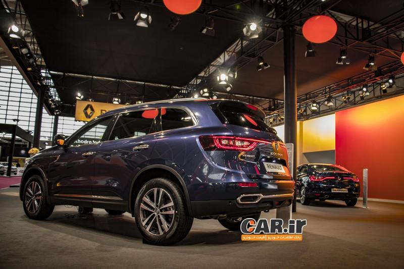 غرفه ی رنو در نمایشگاه خودرو تهران