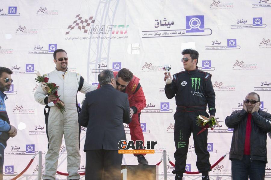 سومین مرحله از مسابقات قهرمانی دریفت کشور