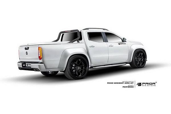 مرسدس X Class تیونینگ شده با لباسی جدید عرضه می شود