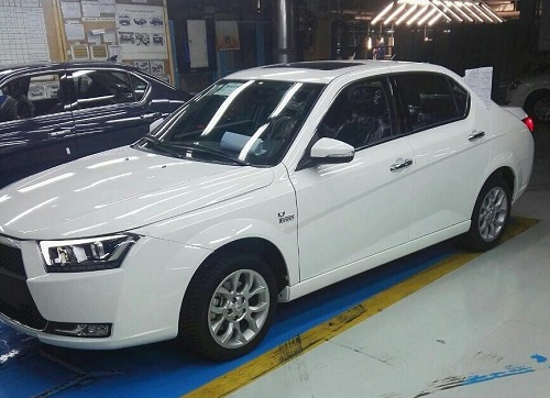 دنا پلاس توربو اتوماتیک در سالن تولید ایران خودرو+ تصاویر