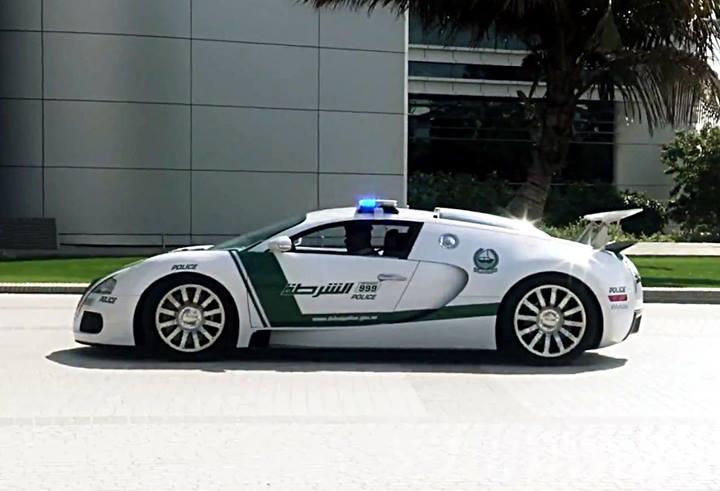 رکوردشکنی پلیس دوبی با ورود بوگاتی ویرون + تصاویر