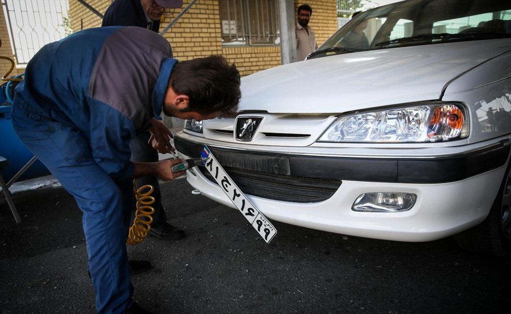 متوقف شدن شمارهگذاری خودروهای غیر استاندارد از سوی پلیس