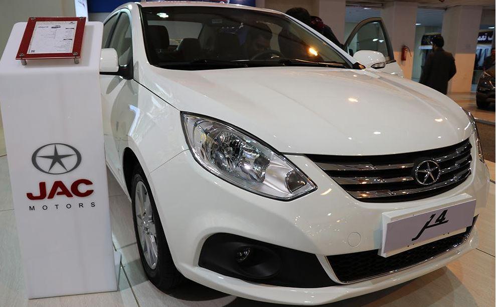 معرفی و نمایش «جک جی4» در نمایشگاه خودروی کرمان