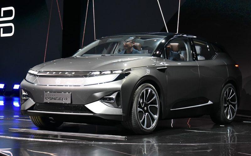 خودروی الکترونیکی فوق پیشرفته یک شرکت چینی