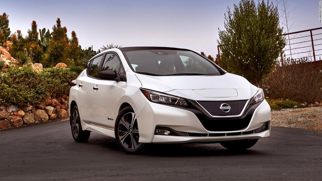 معرفی پرفروش ترین خودروی تمام برقی در جهان؛ نیسان لیف