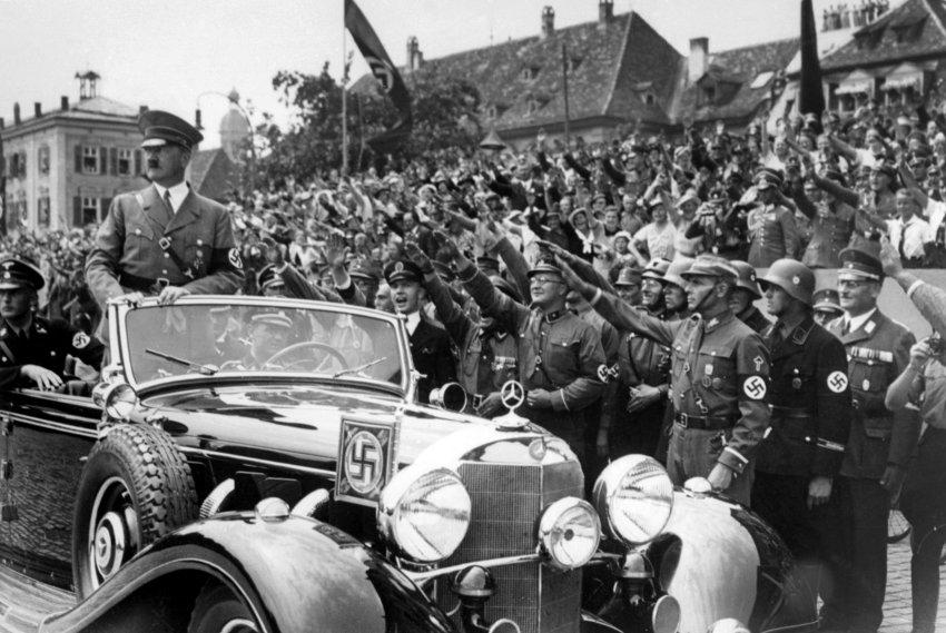 اعلام حراج لیموزین آدولف هیتلر + تصاویر