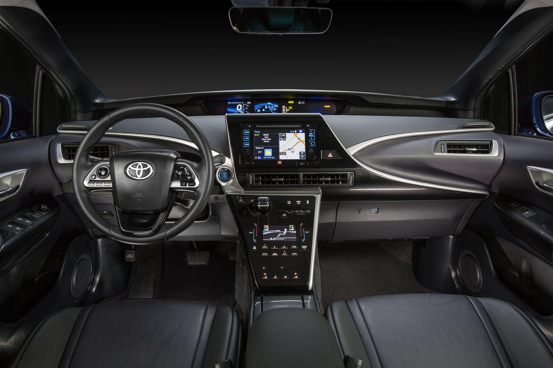 پرفروشترین خودروی هیدروژنی آمریکا ؛ تویوتا میرای 2017