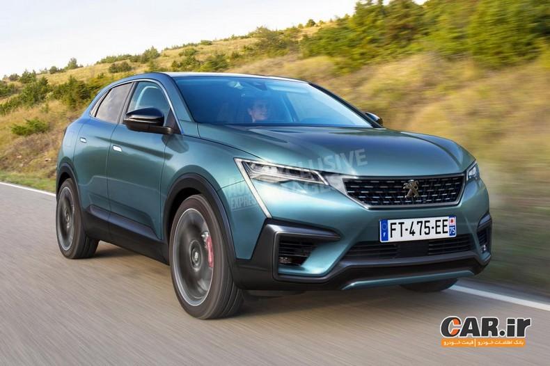 پژو 4008 SUV کوپه تا سال 2020 به بازار می آید