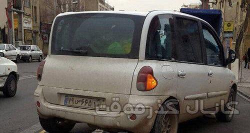 حضور زشتترین خودروی جهان در تهران