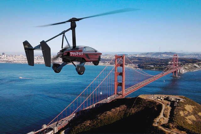 معرفی نخستین خودروی پرنده کمپانی لیبرتی