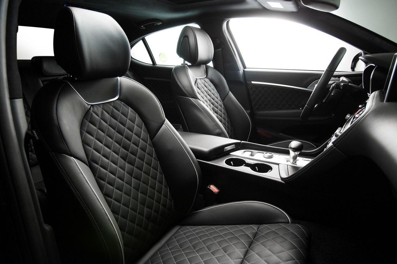 تجهیزجنسیس G70 مدل 2019 به گیربکس دستی