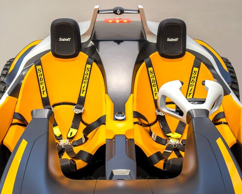 آشنایی با خودروی عجیب و دو زیست هیوندایی + تصاویر