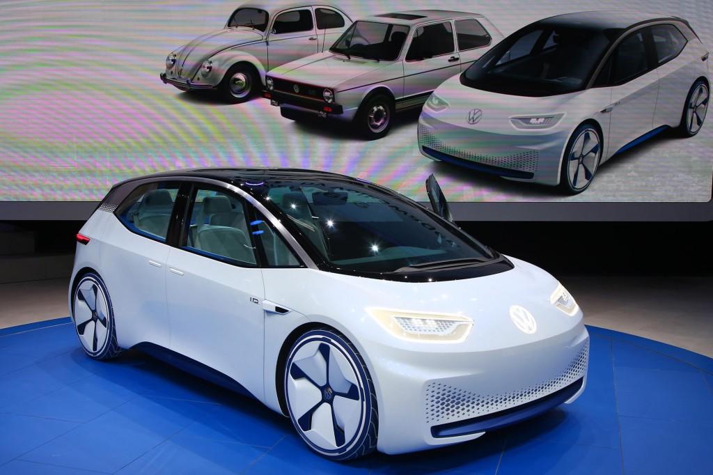 رونمایی فولکس واگن از سه مدل الکتریکی در سال 2018