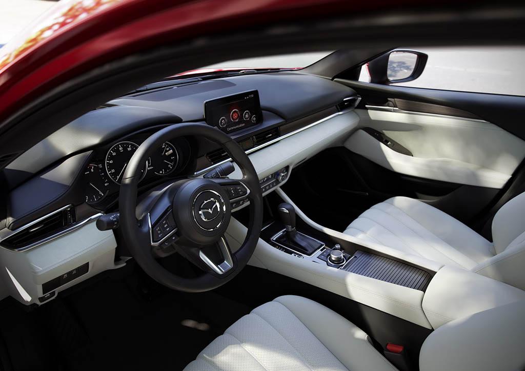 اعلام قیمت و مشخصات مزدا 6 مدل 2018 فیسلیفت