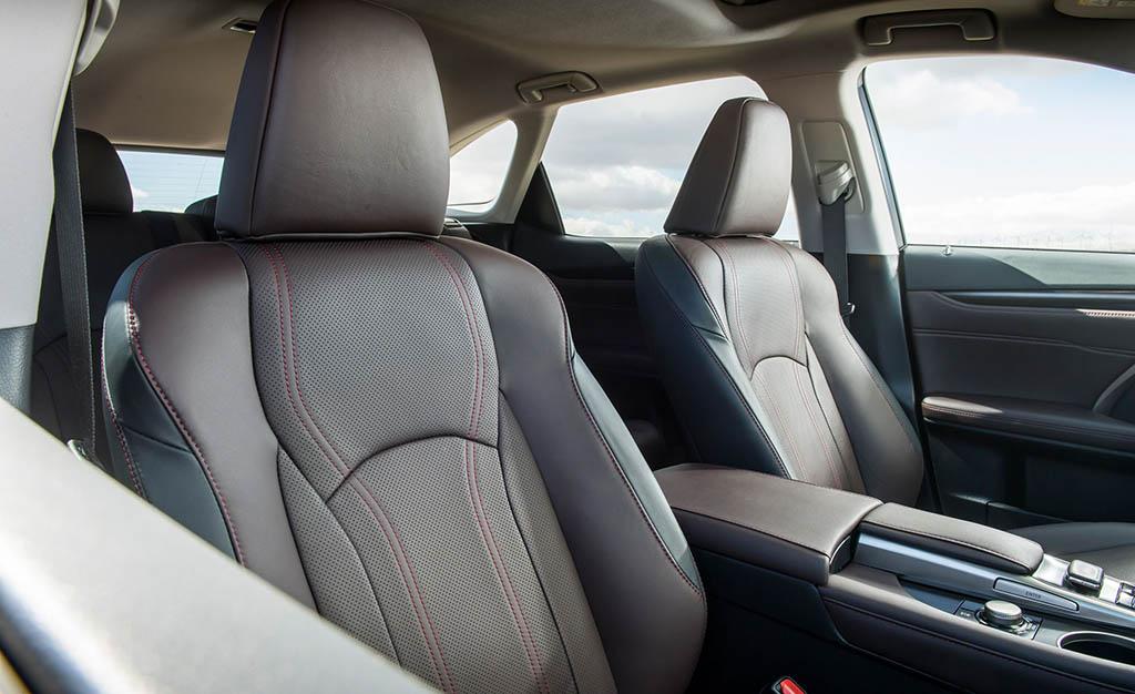 معرفی نسخه دیفرانسیل جلوی لکسس RX350L مدل 2018