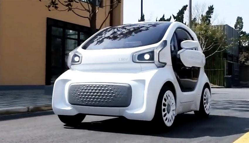 تولید نخستین خودروی الکتریکی با چاپ 3 بعدی