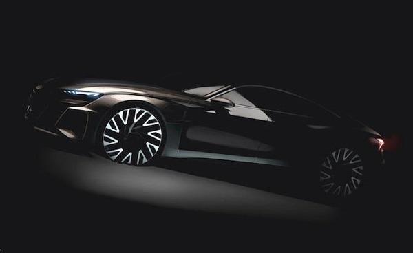 نگاهی به طراحی ابتدایی آئودی e ترون GT