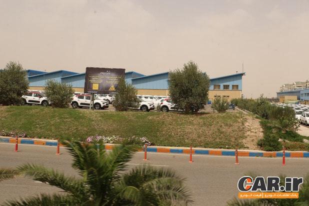 گزارش بازدید از کارخانه سایپا سیتروئن در کاشان