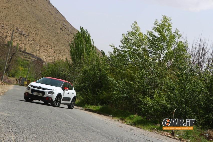 نخستین تجربه سواری و بررسی سیتروئن C3  در ایران