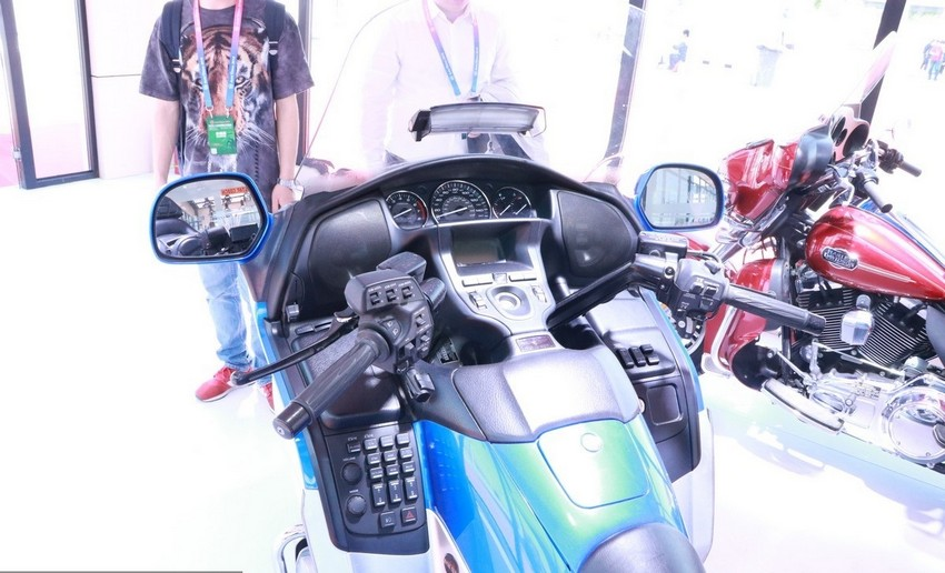 هوندا از یک موتور سیکلت خاص در نمایشگاه خودروی چین رونمایی کرد