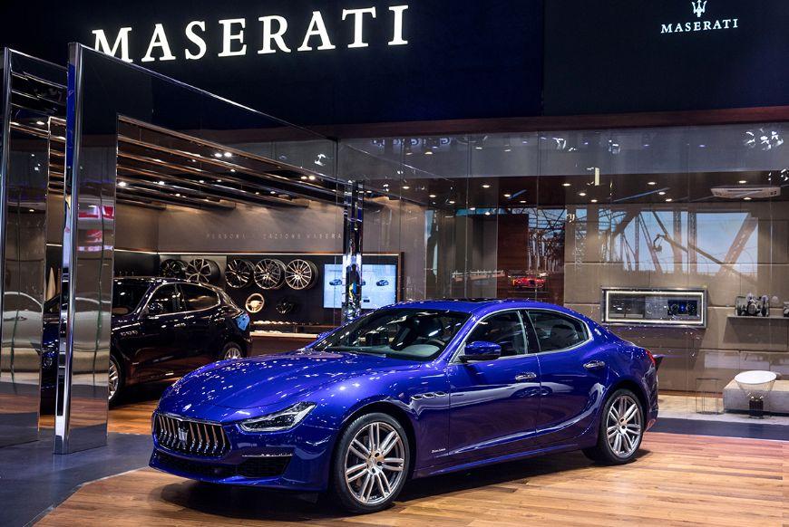 حضور خودروهای لوکس مازراتی در نمایشگاه خودروی پکن