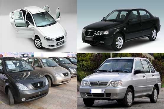 قیمت جدید خودروهای داخلی در آشفته بازار تهران + جدول