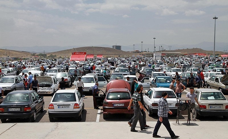 قیمت خودرو در بازار بین ۱.۵ تا ۵ میلیون تومان شد + جدول