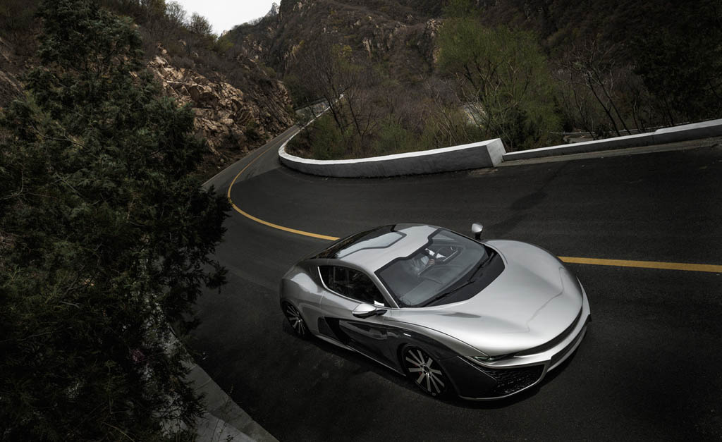 معرفی Qiantu K50 ، ابر خودروی تولید چین