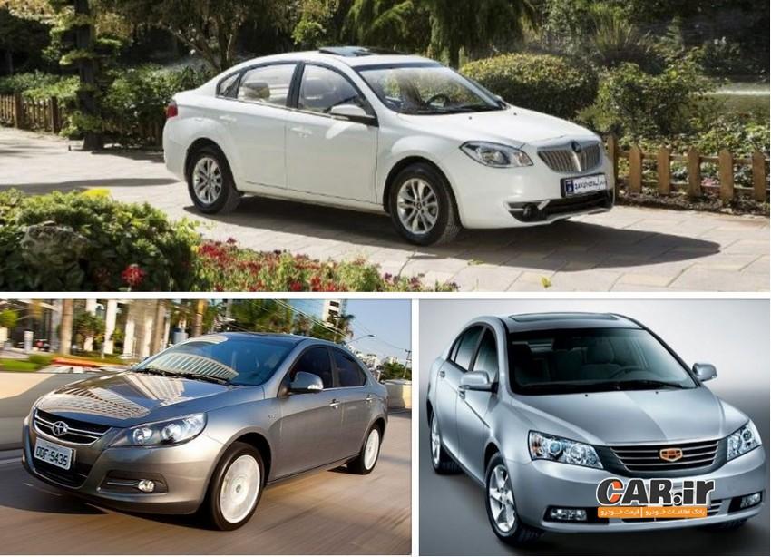 بررسی و مقایسه 3 خودروی چینی محبوب بازار ایران