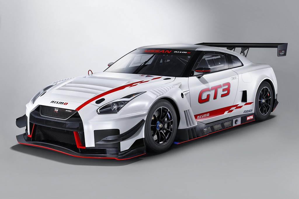 نیسان رسما از GT-R نیسمو GT3 2018 رونمایی کرد