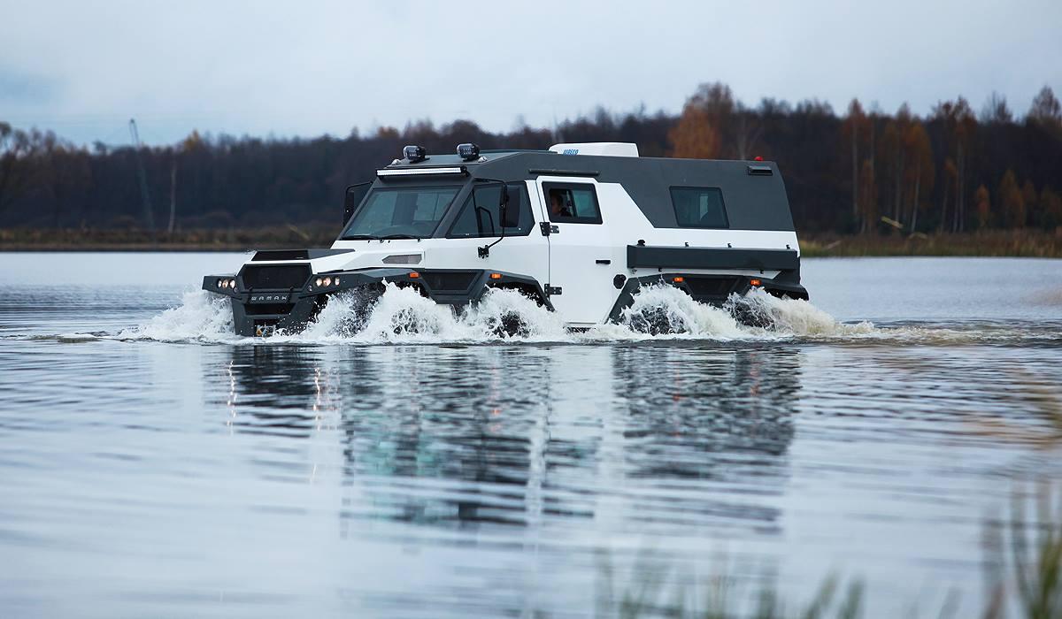 کدام خودرو بلندترین SUV جهان است؛ مرسدس G63 6×6 یا شامان روسی ؟