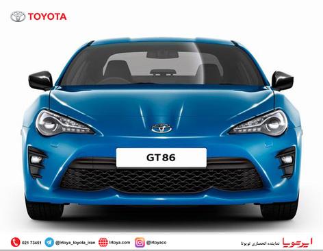 عرضه نسخه جدید تویوتا GT86 مدل 2018 - عکس