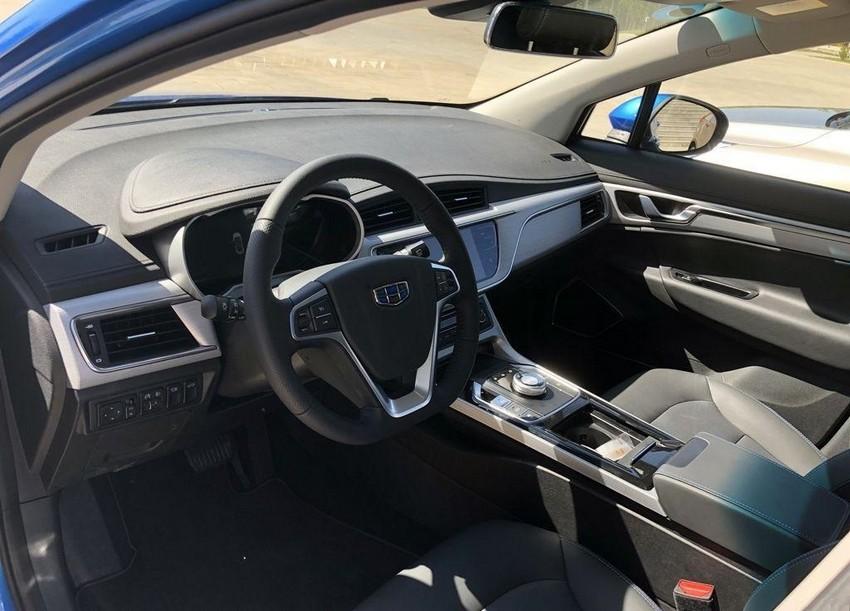 خودروی تمام الکتریکی جیلی امگرند GSe رونمایی شد - تصاویر