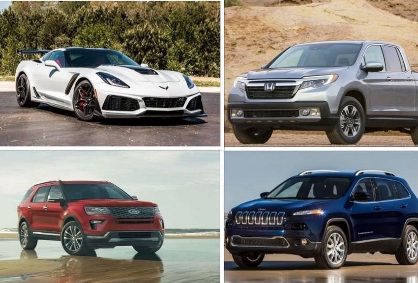 آشنایی با محبوب ترین خودروهای آمریکایی سال ۲۰۱۸