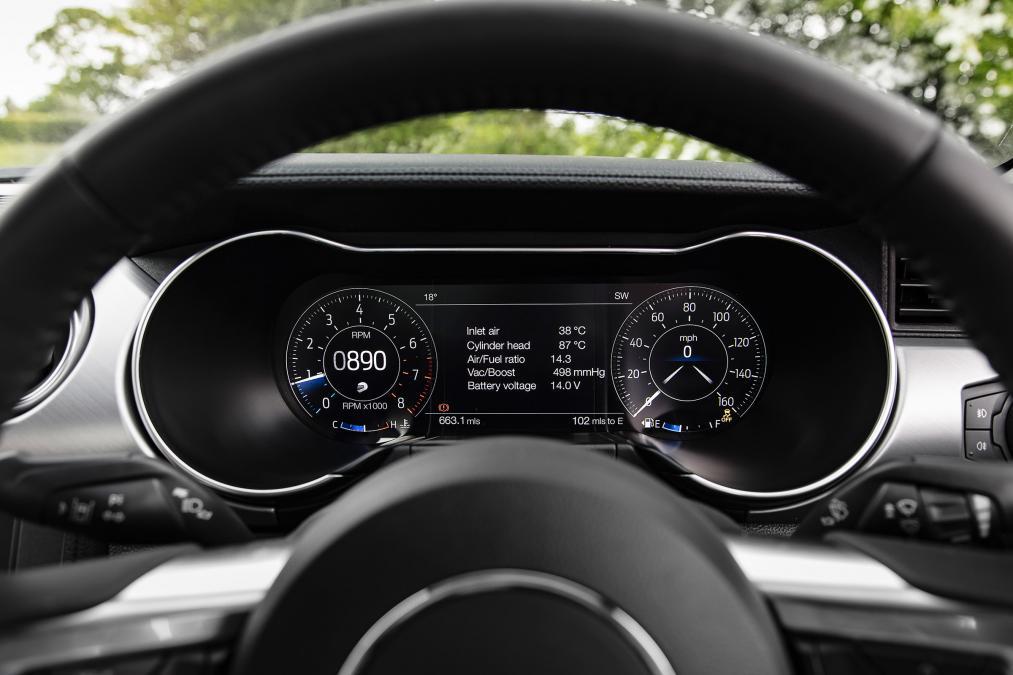 تجربه رانندگی با فورد موستانگ 8 سیلندر 2018