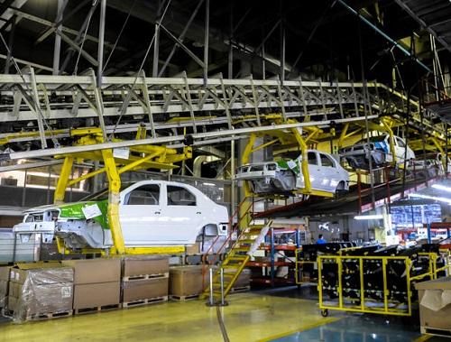 از ابتدای سال تا امروز در ایران خودرو 5 هزار رنو تولید شد