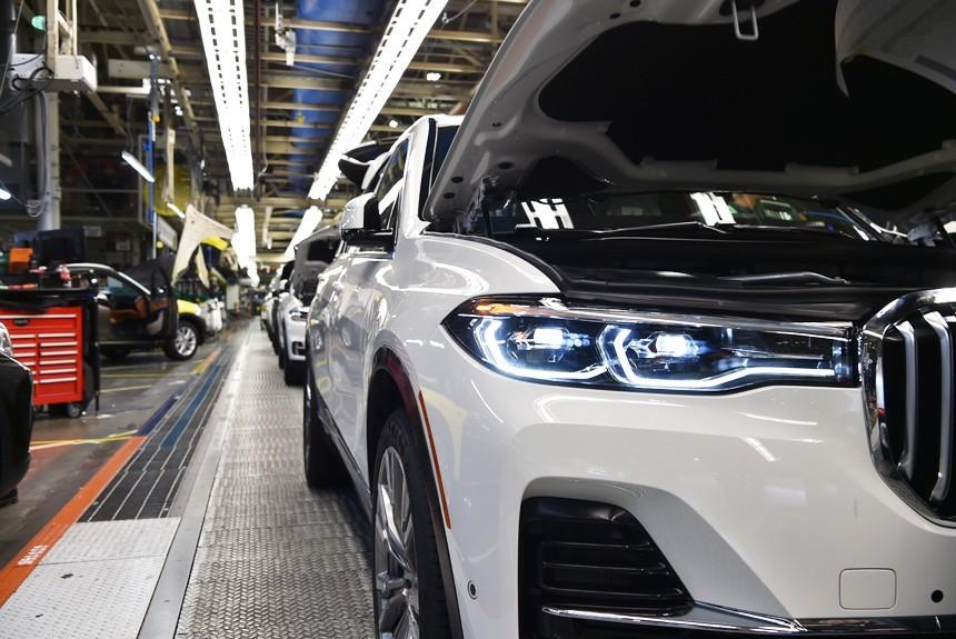 تولید شاسیبلندهای BMW در چین