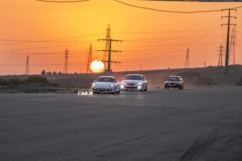 راند اول مسابقات درگ( شتاب) قهرمانی کشور برگزار شد، رقابت سریعترین های ایران