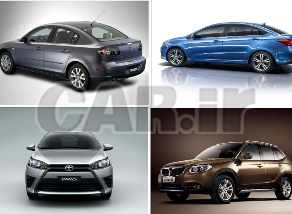 در بازار خودروی تهران با ۱۰۰ میلیون چه خودرویی میتوان خرید؟ + جدول