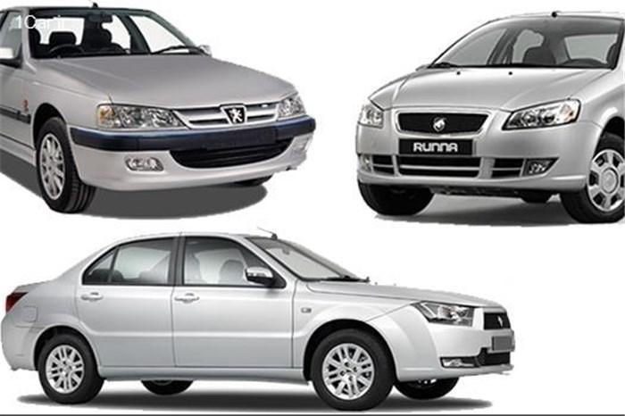 جدول قیمت های عجیب و قریب خودروهای داخلی در بازار