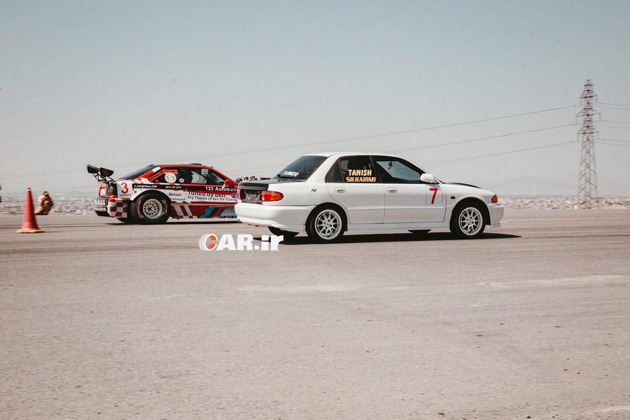 راند دوم مسابقات شتاب (درگ) قهرمانی کشور برگزار شد / سریعترین خودرو ایران را بشناسید