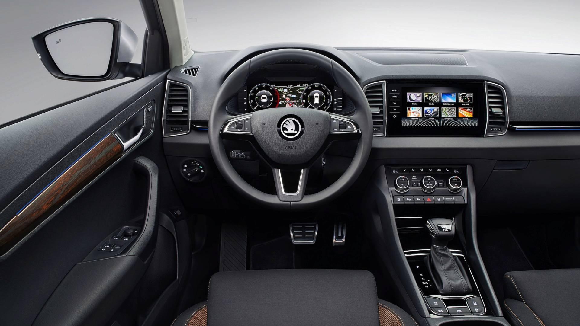 کاروک اسکات اشکودا خودرویی با 4 چرخ متحرک معرفی شد