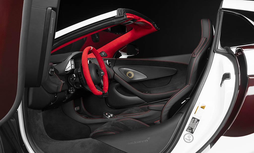 مک لارن 570S اسپایدر سفارشی جدید معرفی شد