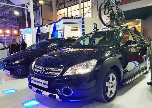 تصاویر محصولات ایران خودرو در نمایشگاه خودرو مشهد
