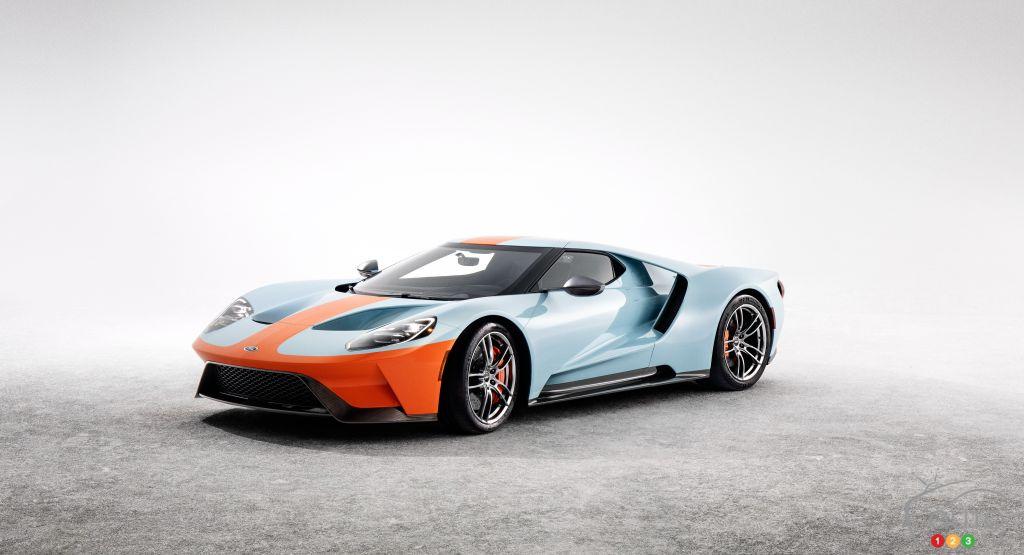 رونمایی فورد از خودروی خاص GT Heritage