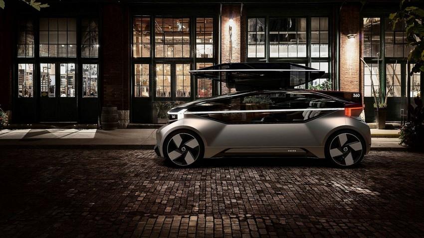 آشنایی با  360C، خودروی آینده ولوو + عکس